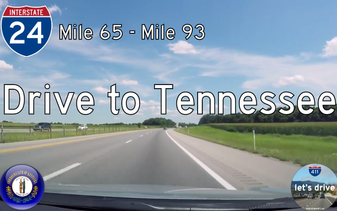 Interstate 24 – Cadiz to Tennessee – Kentucky