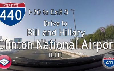 Interstate 440 – Interstate 30 – Clinton Nat'l Airport – Arkansas