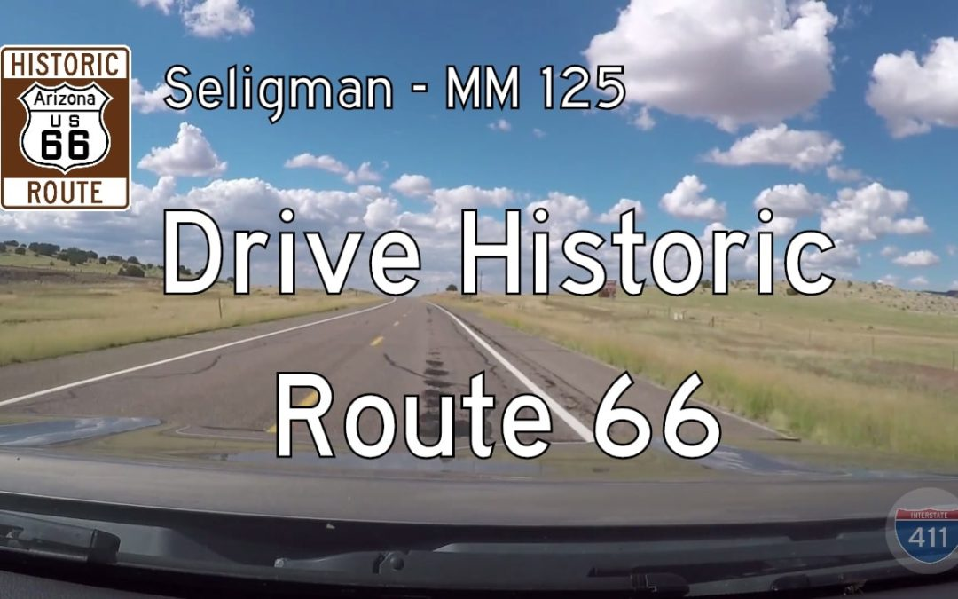 Arizona Highway 66 – Seligman to Yampai