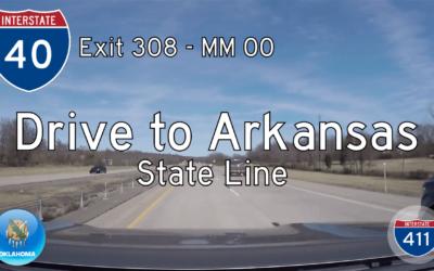 Interstate 40 – Sallisaw to Arkansas – Oklahoma