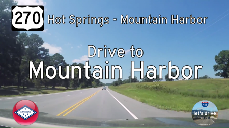 US Highway 270 - Hot Springs - Mountain Harbor - Arkansas