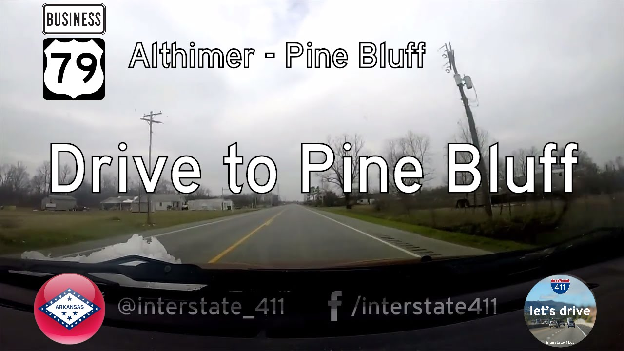 US Highway 79B – Althimer – Pine Bluff – Arkansas