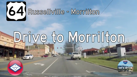 US Highway 64 - Russellville - Morrilton - Arkansas