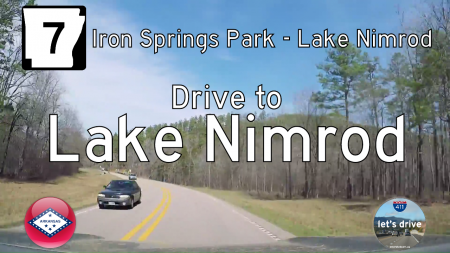 Arkansas Highway 7 - Iron Springs Park - Lake Nimrod