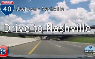 Interstate 40 – Jackson to Nashville – Tennessee