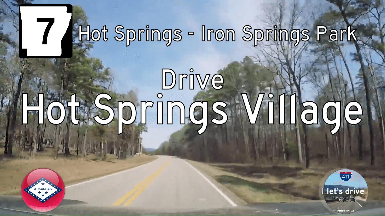 Arkansas Highway 7 - Hot Springs - Iron Springs Park