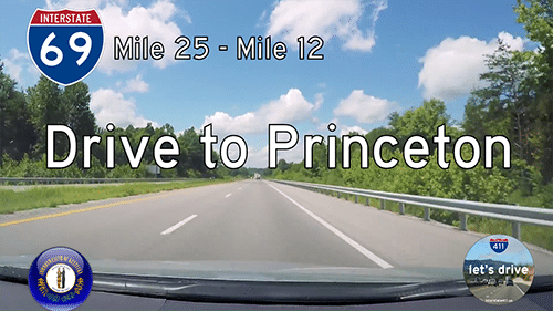 Interstate 69 – Mile 25 to Mile 12 – Kentucky