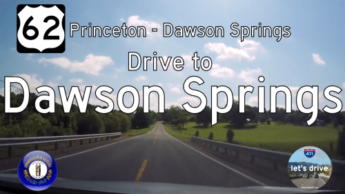 U.S. Highway 62 – Princeton to Dawson Springs – Kentucky