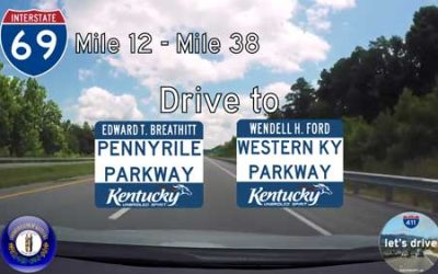 Interstate 69 – Mile 12 to Mile 38 – Kentucky