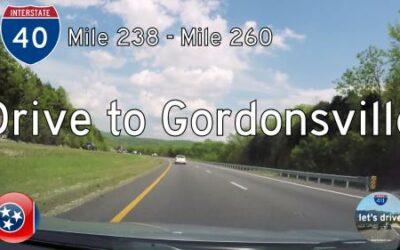 Interstate 40 – Lebanon to Gordonsville – Tennessee
