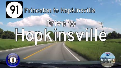 Kentucky Highway 91 South – Princeton to Hopkinsville