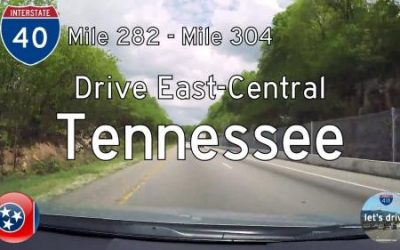 Interstate 40 – Mile 282 to Mile 304 – Tennessee