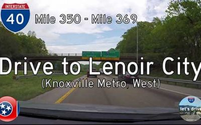 Interstate 40 – Mile 350 to Mile 369 – Tennessee
