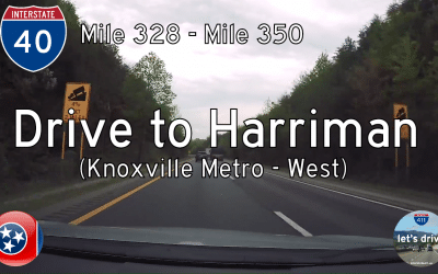 Interstate 40 – Mile 328 to Mile 350 – Tennessee