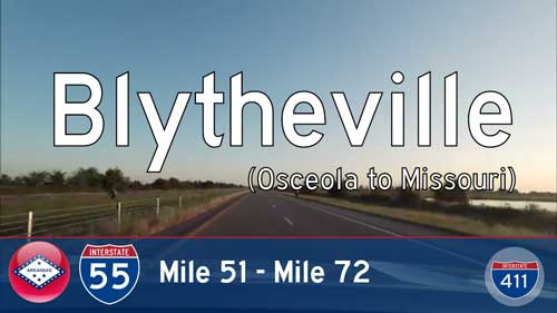 Interstate 55 – Mile 51 to Mile 72 – Arkansas