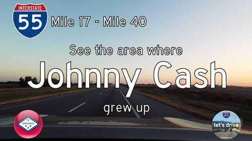 Interstate 55 North – Mile 17 to Mile 40 – Arkansas