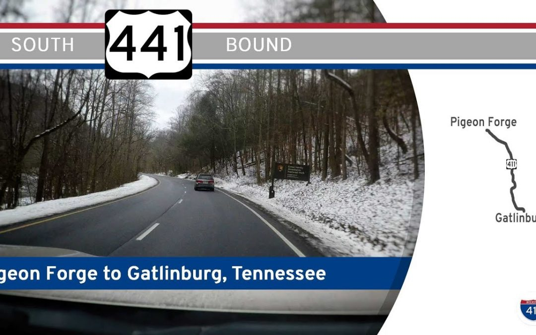 US Highway 441 South – Pigeon Forge to Gatlinburg, Tennessee