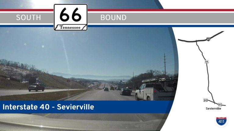 Tennessee Highway 66 - Interstate 40 to Sevierville