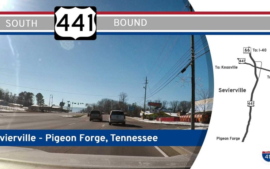 US Highway 441 – Sevierville to Pigeon Forge – Tennessee