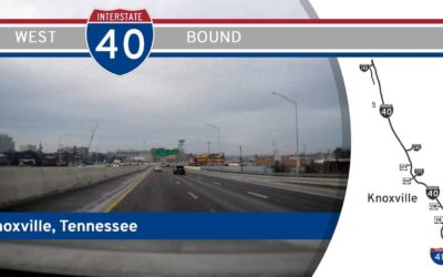 Interstate 40 West in Knoxville – Tennessee