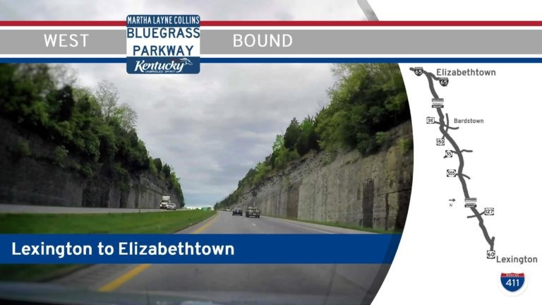 Bluegrass Parkway - Lexington to Elizabethtown - Kentucky