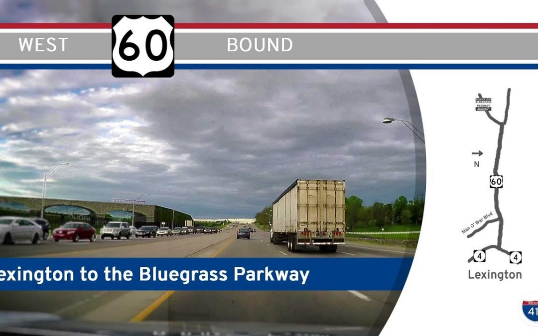 U.S. Highway 60 – Lexington to the Bluegrass Parkway – Kentucky