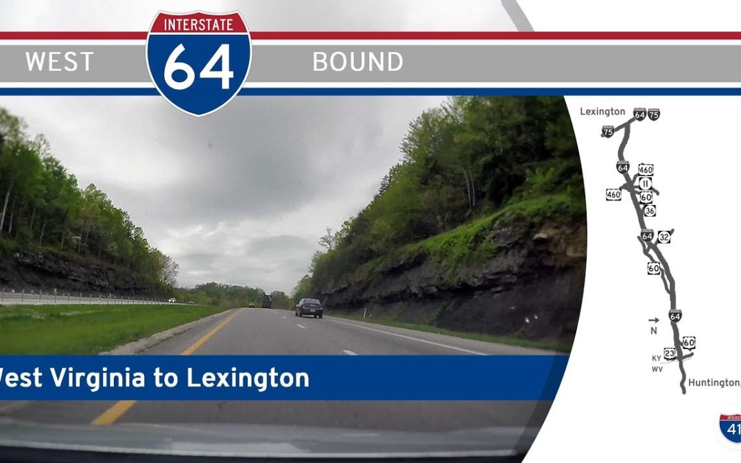 Interstate 64 – West Virginia to Lexington – Kentucky