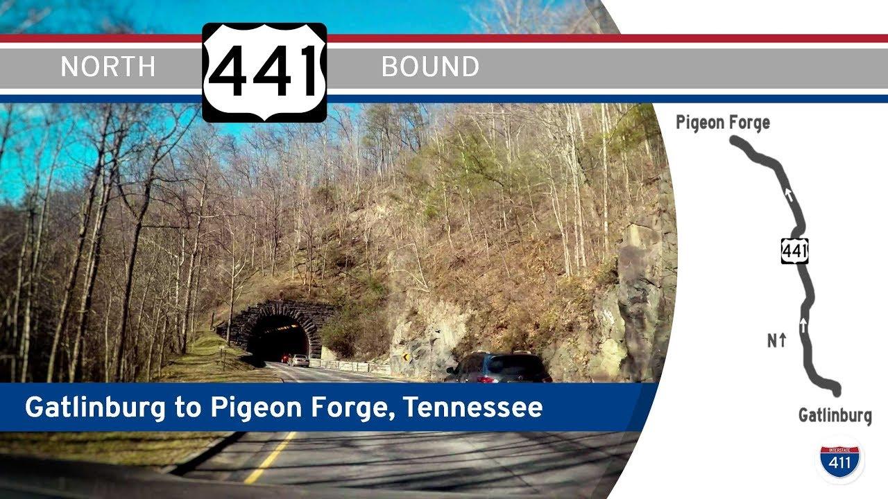 US Highway 441 – Gatlinburg to Pigeon Forge, Tennessee