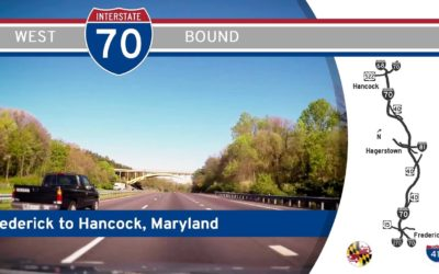 Interstate 70 – Frederick to Hancock – Maryland