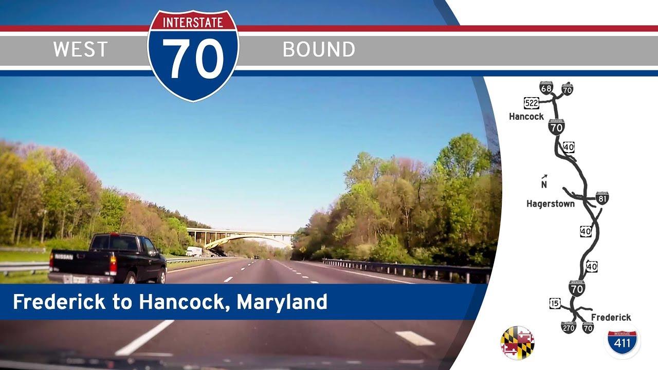 Interstate 70 – Frederick to Hancock – Maryland