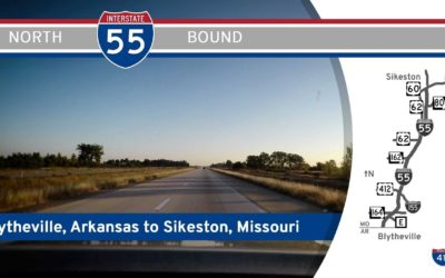 Interstate 55 – Arkansas to Sikeston – Missouri