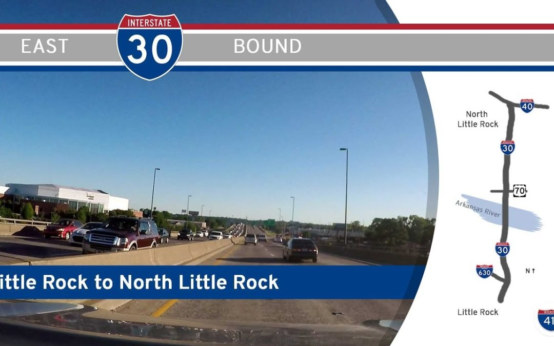 Interstate 30 – Little Rock to North Little Rock – Arkansas
