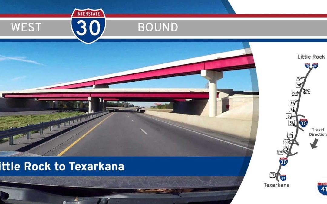 Interstate 30 – Little Rock to Texarkana – Arkansas