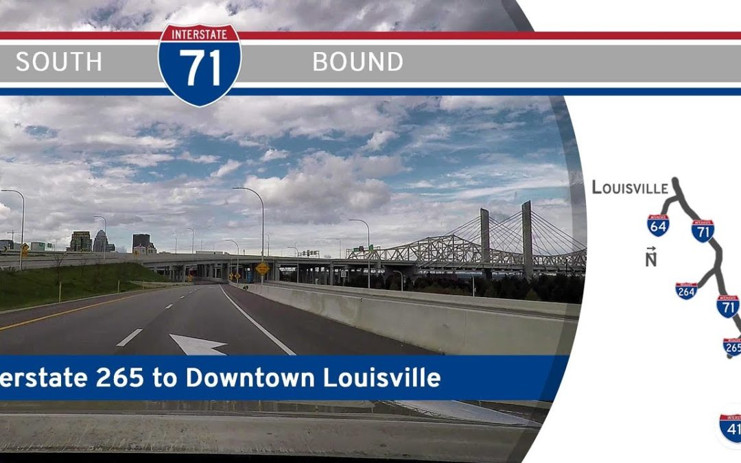 Interstate 71 – I-265 to Downtown Louisville – Kentucky