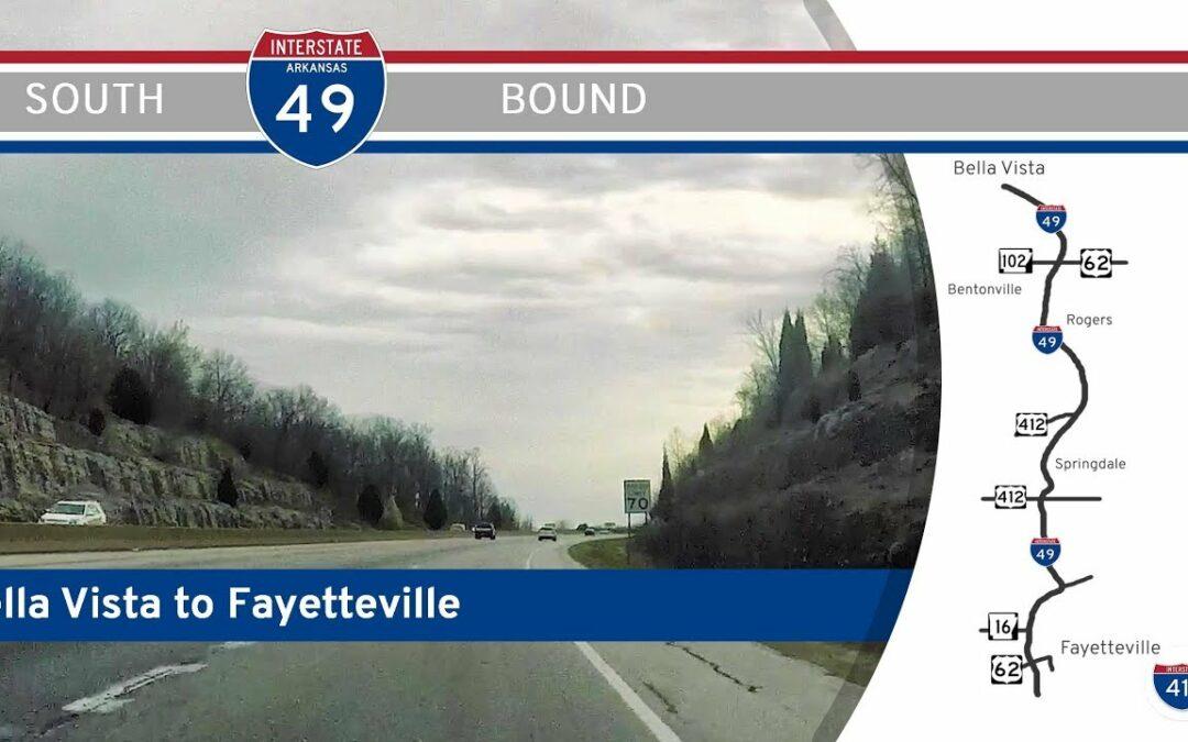 Interstate 49 – Bella Vista to Fayetteville – Arkansas