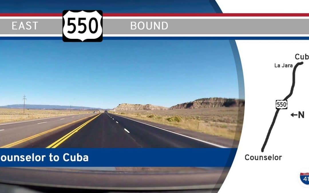 U.S. Highway 550 – Counselor to Cuba – New Mexico