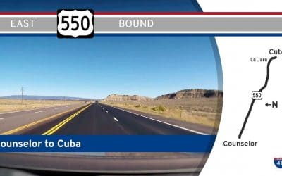 US Highway 550 – Counselor – Cuba – New Mexico