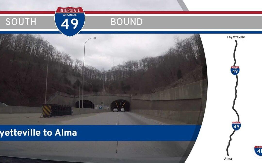 Interstate 49 – Fayetteville to Alma – Arkansas