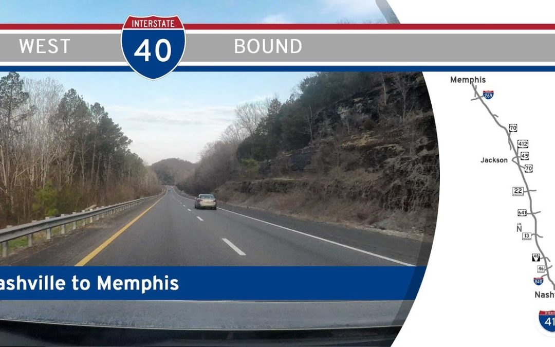 Interstate 40 – Nashville to Memphis – Tennessee