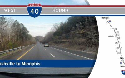 Interstate 40 – Nashville to Memphis – Tennessee