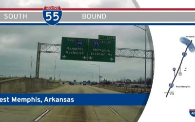 Interstate 55 in West Memphis – Arkansas