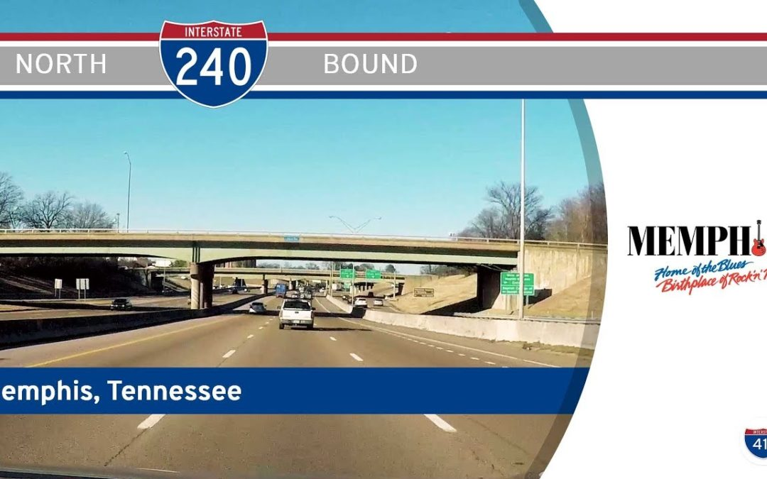 Interstate 240 North in Memphis – Tennessee