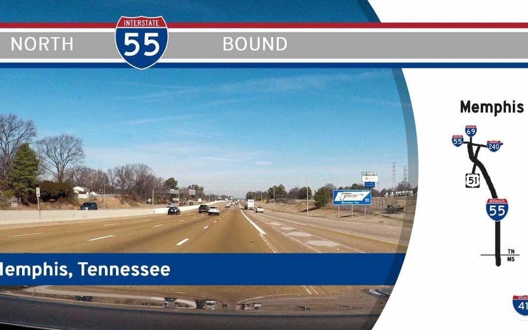 Interstate 55 – Mississippi to Interstate 240 – Tennessee