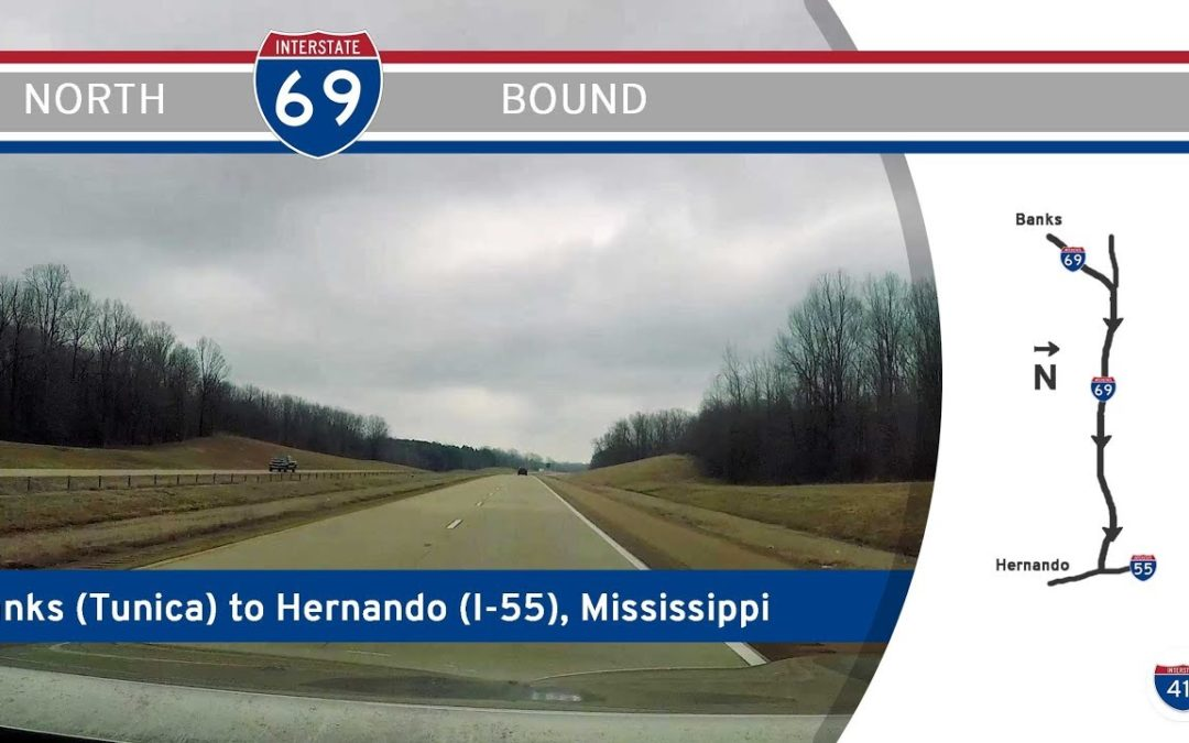Interstate 69 – Banks (Tunica Casinos) to I-55 – Mississippi |  Drive America's Highways 🚙