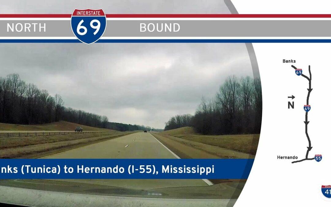 Interstate 69 – Tunica to Hernando – Mississippi