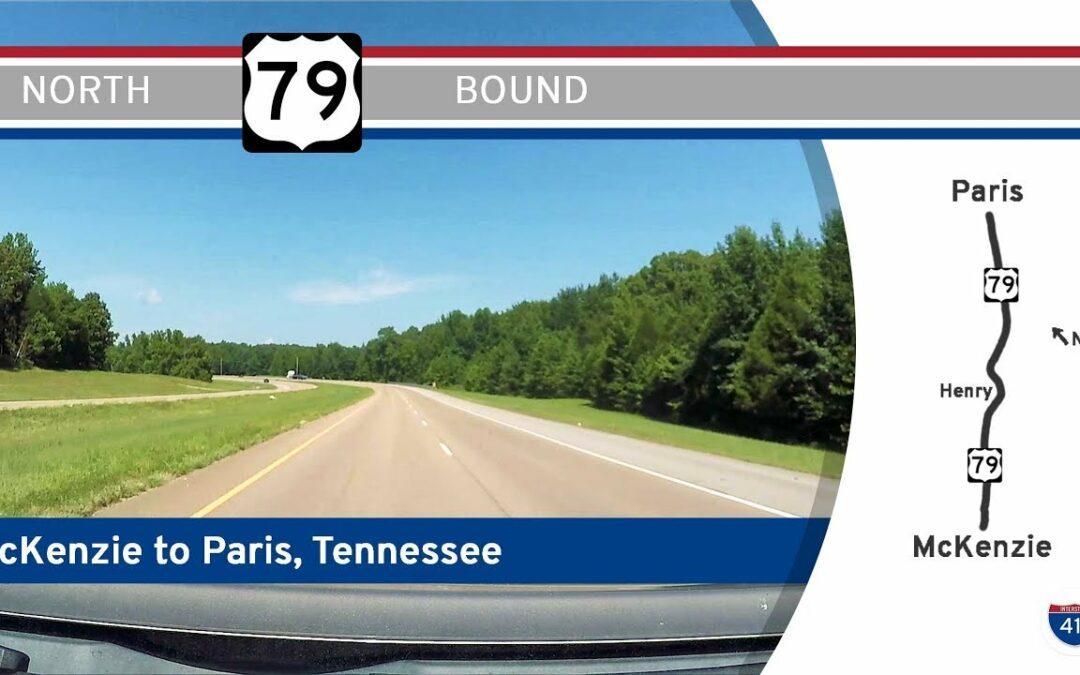 US Highway 79 – McKenzie to Paris – Tennessee