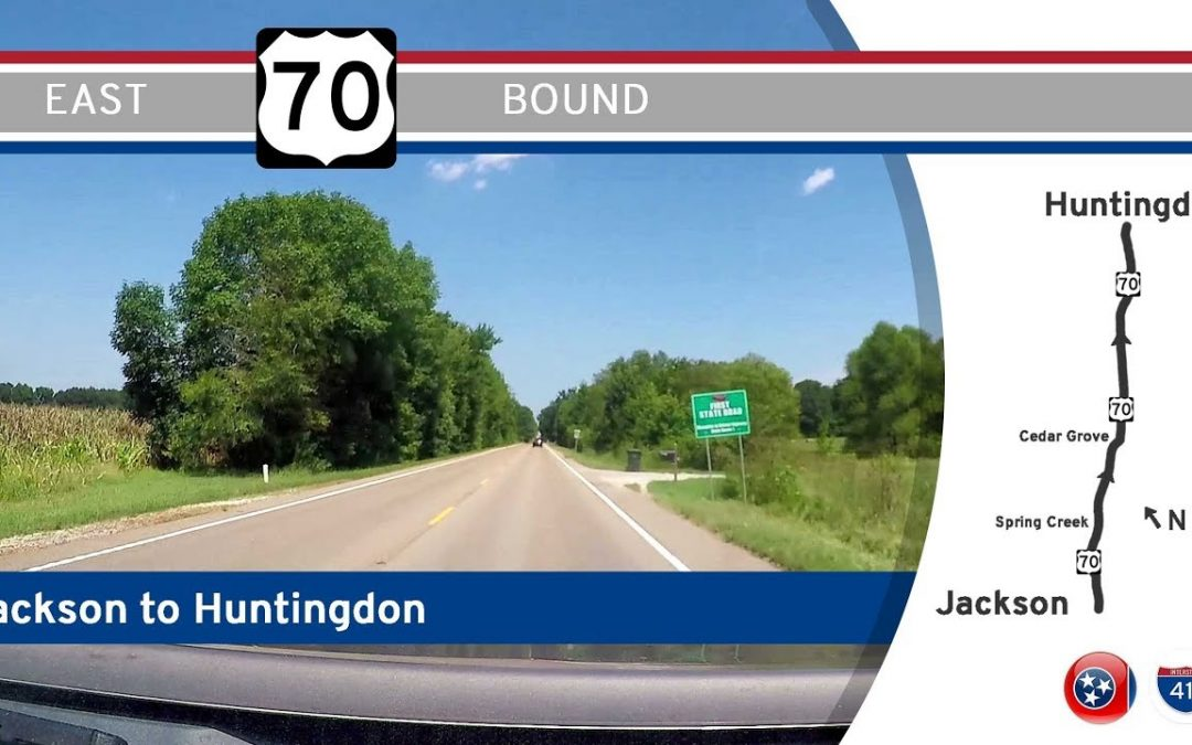 U.S. Highway 70 – Jackson to Huntingdon – Tennessee