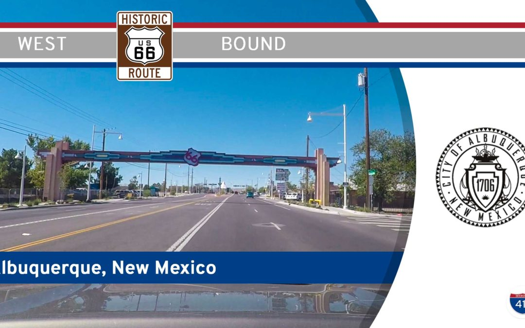 Historic Route 66 – Central Ave NW – Albuquerque – New Mexico