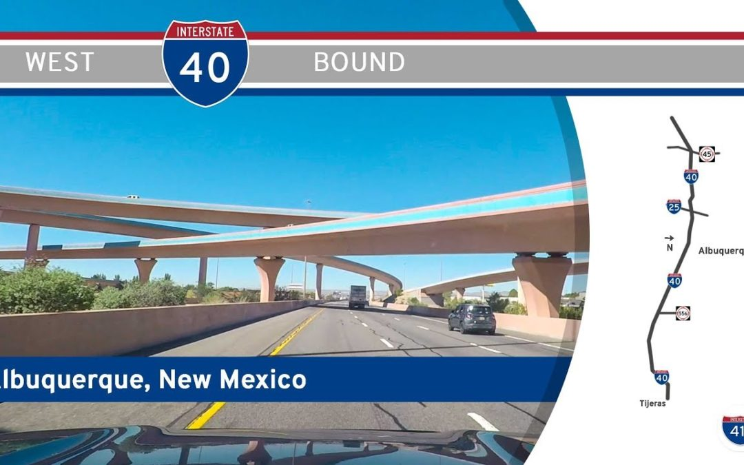 Interstate 40 in Albuquerque – New Mexico