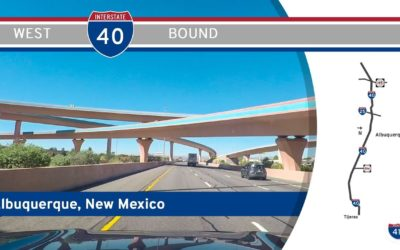 Interstate 40 in Albuquerque – New Mexico